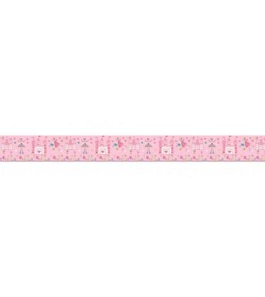 Princess Frieze Border Pink